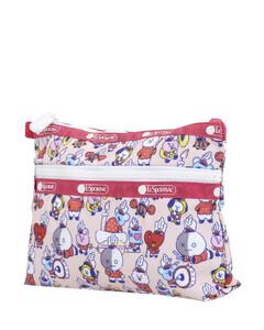 Ladies Multicolor Cosmetic Clutch Bag