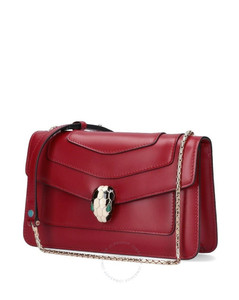 Red Ladies Serpenti Forever Crossbody Bag
