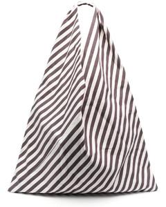 Orange Adenia bucket bag