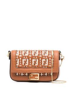 Baguette Leather Nano Bag