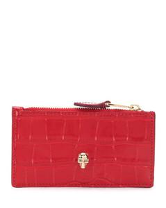 Chain-Embellished Shoulder Bag