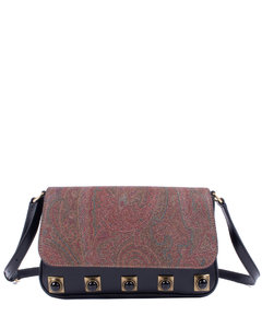 Classic love quilted shoulder bag