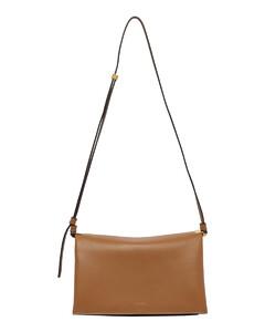 Floral tote bag in black