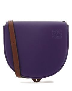 Two-tone leather Heel Duo crossbody bag Multicoloured Loewe Donna