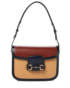 Khaki leather medium Daria handbag