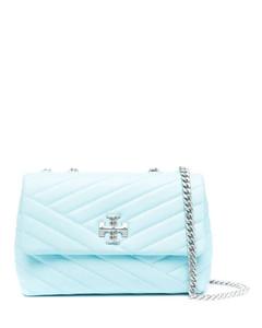 Johanna black faux leather cross-body bag