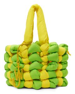 Courier small jacquard messenger bag