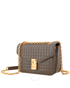 Khaki Medium C Shoulder Bag 187253BFC.15KH