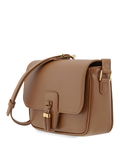 Ladies Tassels Leather Shoulder Bag