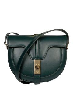 Ladies Satinated Calfskin Small Besace 16 Bag