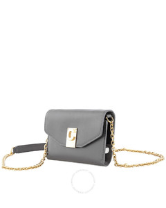 Ladies Iphone X and XS Clutch Bag in Grey