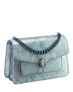 Python Serpenti Forever Cross-Body Bag