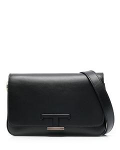 Rachel Shoulder Bag in Crocodile Print Leather
