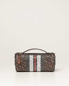 bag in E-canvas with monogram print