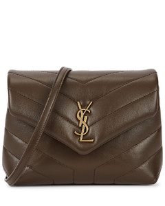 Loulou Toy brown leather cross-body bag