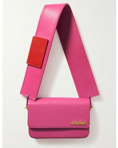 Le Carinu Leather Shoulder Bag