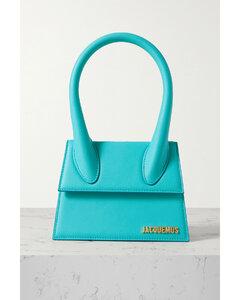 Le Chiquito Moyen Leather Shoulder Bag