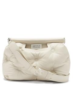 Glam Slam medium quilted leather shoulder bag