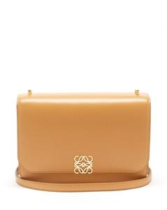 Goya anagram leather shoulder bag