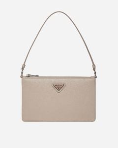 Saffiano leather midi bag