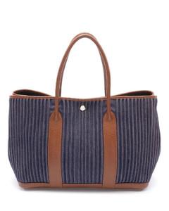 Hourglass animalier-effect leather bag
