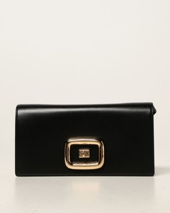 Viv 'choc crossbody bag in leather