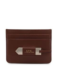 Shoulder Bag With Perforated Logo