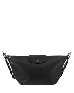 Recycled-fibre cross-body bag