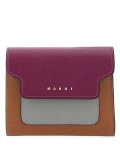 Allie matte grain black shoulder bag