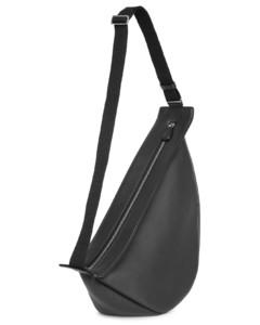 Slouchy banana large black shoulder bag