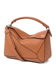 Medium Leather Puzzle Shoulder Bag