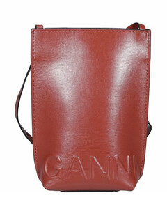 Recycled Leather Small Crossbody Bag