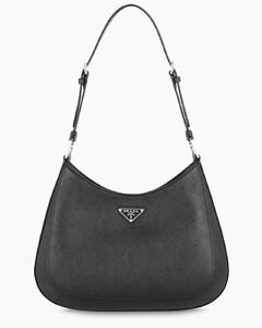Black saffiano Cleo bag