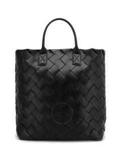 Black Maxi Cabat Tote Bag
