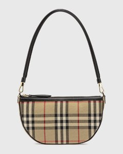 Vintage Check Cotton Olympia Pouch