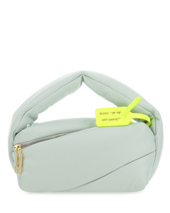 Ice nappa leather Pump handbag