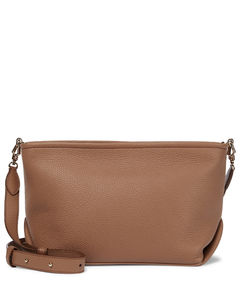 Mirandc Small leather crossbody bag