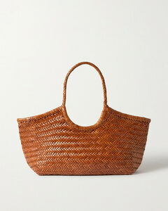 Nantucket Large Woven Leather Tote