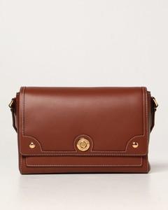Note leather shoulder bag