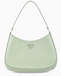 Aqua green brushed Cleo bag