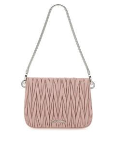 Antiqued pink leather Sassy handbag