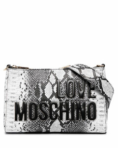 logo stamp crossbody bag