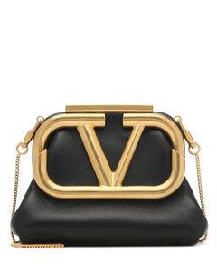 Garavani Supervee Mini leather clutch