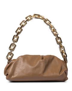 Chain Pouch皮革单肩包