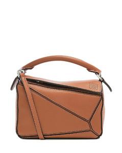 Puzzle Mini Bag in Brown