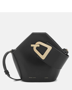 Women's Mini Johnny Bucket Bag - Black