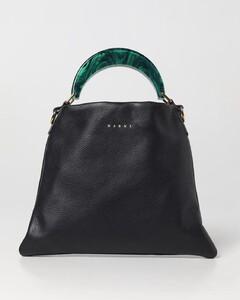 Stella Logo Tiny Crossbody Bag in Black Eco Leather