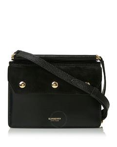 Black Lizard Effect Mini Bag