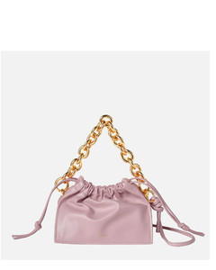 Women's Mini Bom Leather Bag - Iris