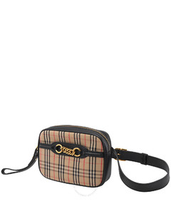 Black Ladies Link Belt Bag